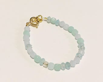 Mixed Blue Baby Bracelet/Accessory