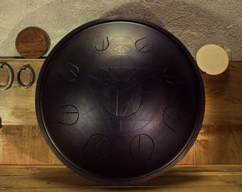 Theia Drum ( handpan, tonguepan, steel tongue drum )