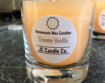 Hand Poured Creamy Vanilla Candle