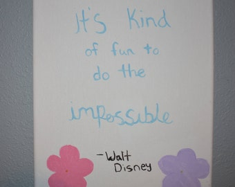 Do The Impossible Canvas