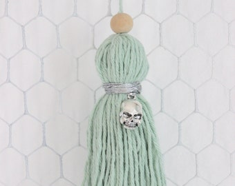 Light green tassel