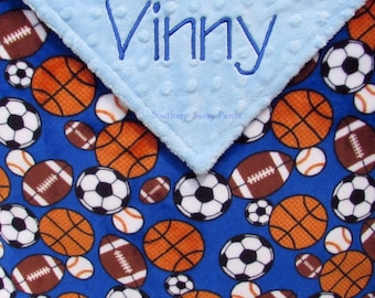 Baby boy basketball etsy baby boy blanket sports baby blanket personalized baby gift custom baby shower gift negle Image collections