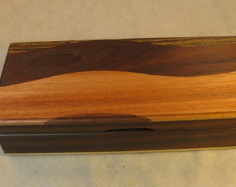 Toasted Ash and Wavy Woods Jewelry Box - LB 129