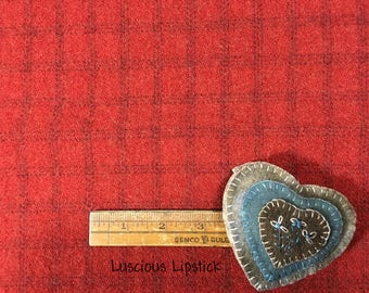 Wednesday...Wool of the Week...Luscious Lipstick...FREE Shipping
