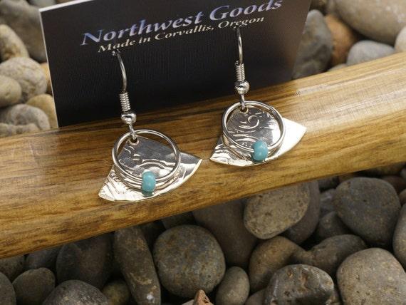 Dangle earrings surgical steel ear wires