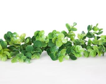 20 Pieces Eucalyptus Greenery, Small Filler - Bouquet Filler, Wreath Filler, Flower Crown Supplies, Arrangement Filler - ITEM 01136