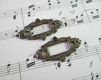 Pair of Salvaged Door Hardware Pieces