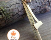 Log Drivers Waltz necklace // nostalgic Canadiana // celebrate Canada 150 // for men and women // N029