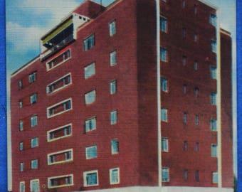 Wilmary Apartment Building Anderson SC South Carolina Linen Postcard Unused