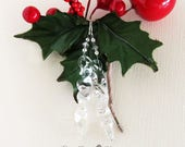 Sparkling Glass Icicle Da...