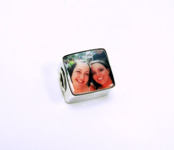 Photo Charm for a Pandora Style Charm Bracelet