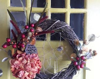 "Autumn Wreath - 18"""
