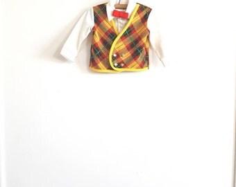 Vintage Polyester Boy's Shirt