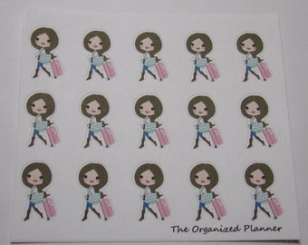 15 Travel Stickers/ Vacation Stickers / Great for your Erin Condren Life Planner