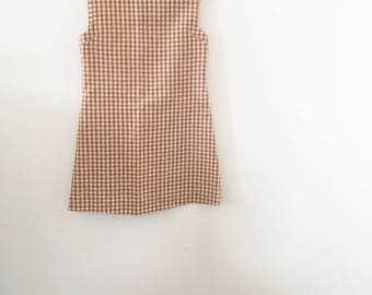 KIDS! 60's Handmade Picnic Dress