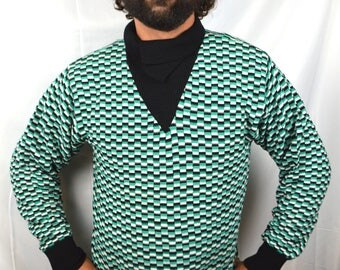 Vintage K2 Ski Lodge Wool 80s 1980s Rad Sweater - NWT