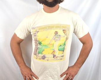 Vintage Rare 90s Elton John Yellow Brick Road Tour Tee Shirt Tshirt