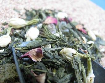 Organic Passion Fruit Jasmine Green Tea (sencha loose tea)