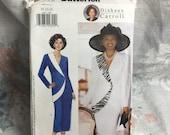 Butterick 6003 Plus jacket skirt suit Diahann Carroll Sewing Pattern Uncut Sz 20 22 24