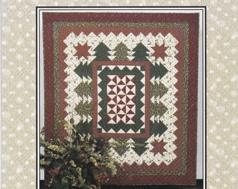 2002 Forest View Throw Thimbleberries by Lynette Jensen Quilt Quilting Pattern Craft
