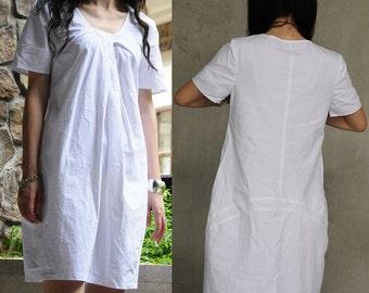 White /Dress /Short Sleeve