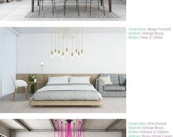 Bedroom lighting | Etsy