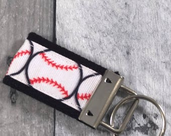 Mini Key Fob - Baseball