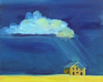 Safe Haven for Sara landscape painting