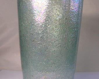 A Fine 1930's Vintage Irridescent Murano Art Glass Vase A16
