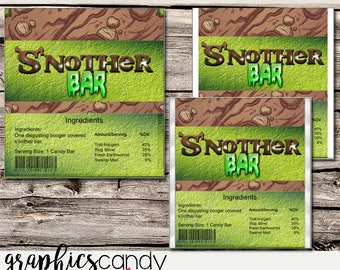 Shrek S'nother Bar Chocolate Wrapper - Printable - DIY - Digital File - INSTANT DOWNLOAD - Shower - Wedding