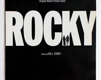 "Rare ""Rocky"" Vinyl Soundtrack (1976) - Very Good Condition"