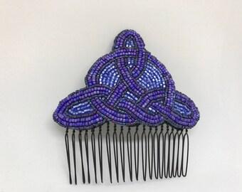 Blue Celtic Knot