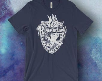 Harry Potter Inspired Ravenclaw Screen Printed T-Shirt