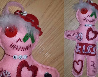 OOAK Custom Doo Dolls - Valentines Hand Made Whimsical Voodoo Doll CHOOSE ONE!