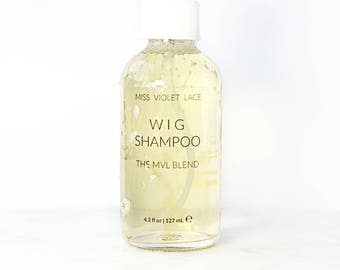 Wig Shampoo | Hair Wash for Synthetic Wigs, Hair Extensions and Hair Pieces | 100% Natural and Vegan Wash For Wigs, Dreadlocks + Hair Pieces