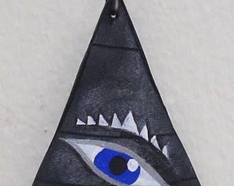 Demonic Eye Triangle Pendant (Batch 1)