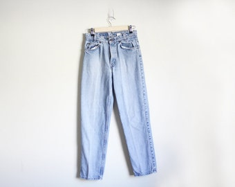 Vintage Levis 550 Jeans / High Waisted / Classic / Tapered Leg / Orange Tab