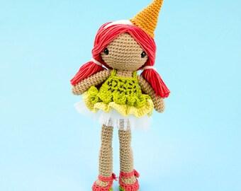 Lorena the ice-cream doll | amigurumi pattern
