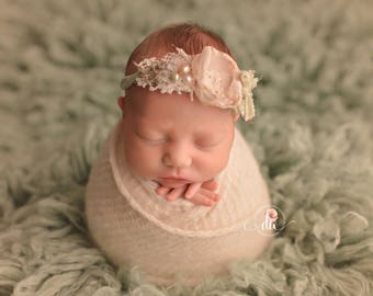 Neutral Knit Newborn Wrap, Newborn Photo Prop Wrap Beige Newborn Wrap Cream Stretch Knit Wrap Alpaca Knit Wrap Gray Wrap Newborn Photography