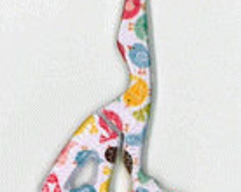 Pre-order 2018 Nashville Market Little Birds scissors counted cross stitch at thecottageneedle.com