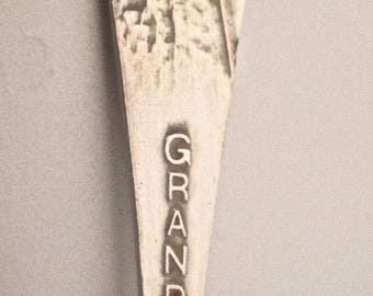 Grand Canyon Souvenir Spoon 1920 Sterling Silver Canyon Engraved