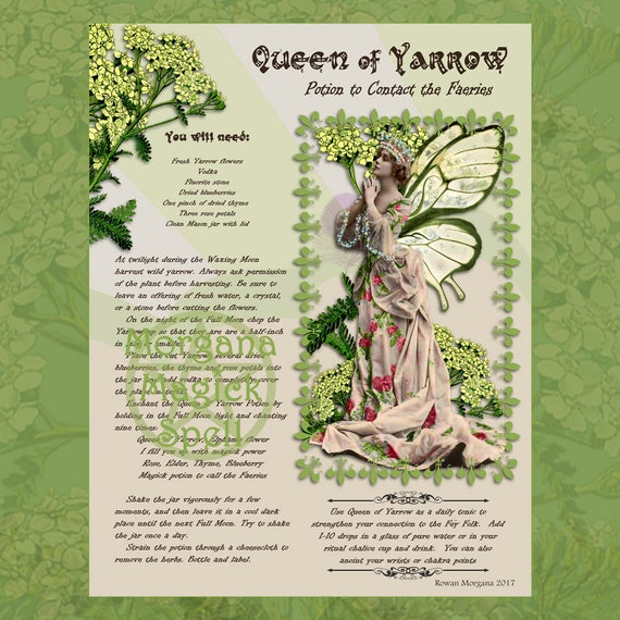 Queen of Yarrow Potion