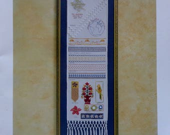 Cross Stitch Pattern | The EMBROIDERY STUDIO SAMPLER iii 3 | Pat Rozendal | Counted Cross Stitch Pattern | Antique Reproduction