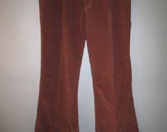 Vintage Corduroy Wide Leg Wide Wale 84