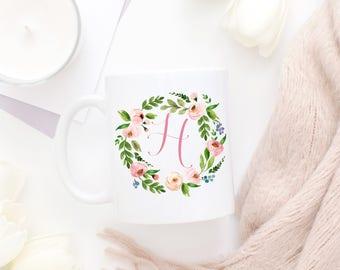 Monogram Gift Ideas for Women, Monogram Mug, Monogram Gifts, Gifts for Women, Monogrammed Gift, Personalized Gift, Bridesmaid Gift