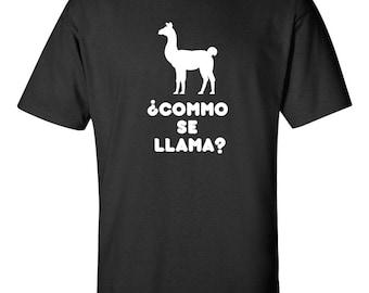 COMO SE LLAMA - Funny T-Shirt  ~New~
