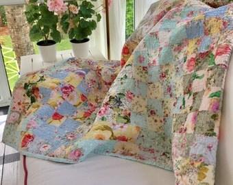 """Handmade Quilt #1    53 1/2"""" x 43 1/2""""  handmade quilt"""