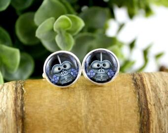 Vader Cufflinks - Gift for Him - Wedding Accessories - Grooms Gift Idea - Father's Day Gift - Darth Vader Cufflinks - Star Wars Cufflinks