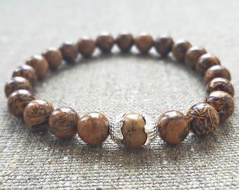 Elephant Skin Jasper,Calligraphy Stone,Gemstone,Elephant Skin,Script Stone,Script Jasper,Fossil Stone,Reiki,Gift For Him,Gift for Men
