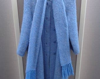 Donegal Design Mohair Coat
